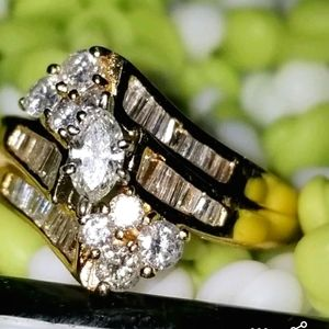 14k Diamond Wedding Ring/Price Firm